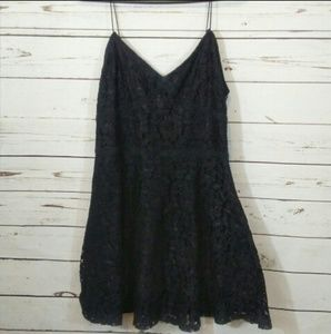 Anthropologie | Paper Crane lace dress size m